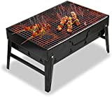 Zogin Barbecue Grill, Portable Charcoal Barbecue Table Camping Outdoor Garden Grill BBQ Utensil