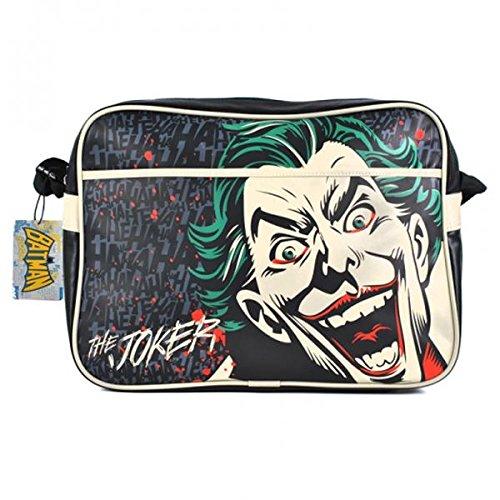 Joker Tasche Batman DC Comics Retro Umhängetasche schwarz 37,5x27,5x13cm