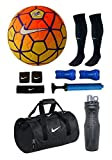 #9: RetailWorld Nike (Replica) Ordem Orange/Yellow Football Combo Kit