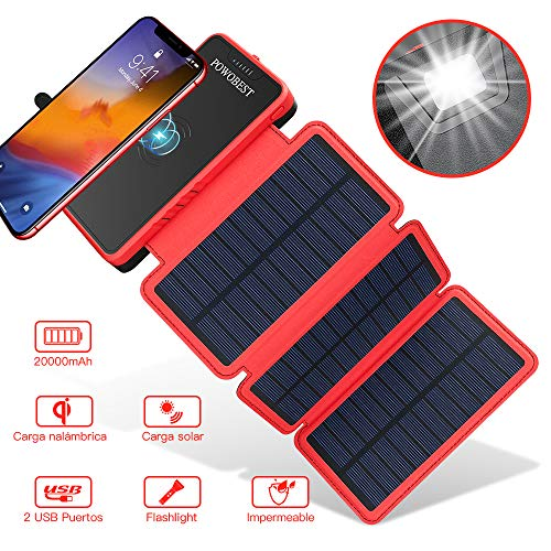 Cargador de Solar 20000Mah