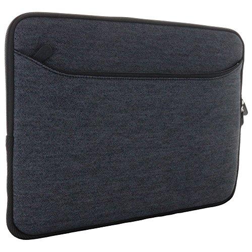 XiRRiX Laptoptasche Tasche universal für 13 / 13,3 Zoll (33/33,8 cm) Macbook Ultrabook Laptop Notebook - Notebooktasche grau