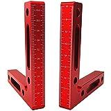 "2 Pack 90 graden 4,7 ""x 4,7 ""positioneren vierkanten, 90 ° L-type hoekklem, aluminium aluminium hoekklemmen rechte hoek pince"