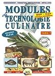 Modules de technologie culinaire BEP...