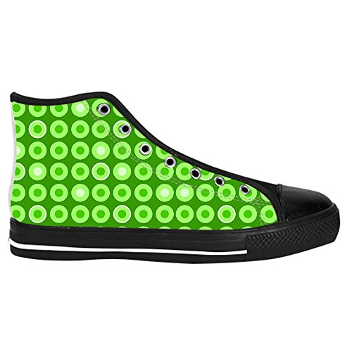Dalliy polka dots Kids Canvas shoes Schuhe Lace-up High-top Footwear Sneakers E