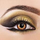 Eye-Effect Twilight Kontaktlinsen Jahreslinsen, mehrfarbig/0 Dioptrien, 2 Stück