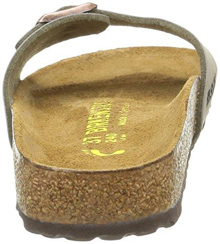 Birkenstock Madrid, Herren Pantoffeln Grau - Gris (Stone)