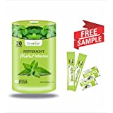 Zindagi Peppermint Herbal Infusion - Natural & Fat Free Health Drink Sweeten With Stevia - Sugar Free Energy Drink...