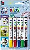 Marabu 012500081 - Porcelain for Kids Sortierung 5x1-3mm
