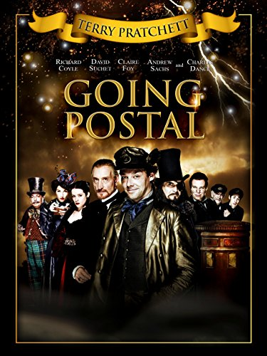 Buchcover Going Postal
