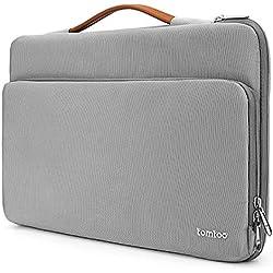 """tomtoc 13-13.5 Pouces Sacoche Housse Ordinateur Portable Compatible avec 13.3"""" Vieux MacBook Air, 13"""" MacBook Pro Retina, 12,9"""" iPad Pro, 13.5"""" Surface Laptop/Book, Gris"""