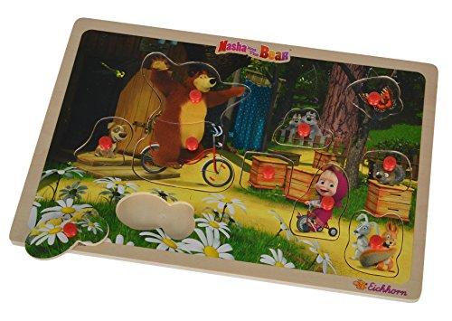 Smoby Eichhorn 109304083 - Masha Puzzle, 30 x 20 cm