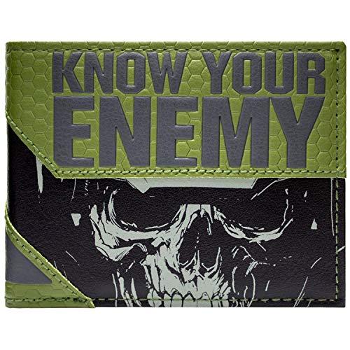 Activition Call of Duty unendlich Warfare Grau Portemonnaie Geldbörse (Für Call Of Duty-kostüm Kinder)