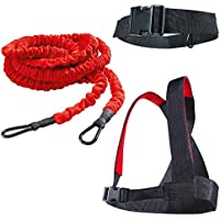 YNXing - Juego de entrenamiento de fuerza de carga, fuerza explosiva, cuerda de resistencia, ayuda a mejorar la velocidad y la fuerza muscular