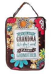 Idea Regalo - H & H Handy top lass borsa/shopper/shopping bag–personalizzabile per il titolo della nonna