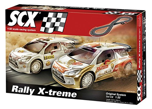 Scalextric Digital System - Circuito C2 Rally X-Treme Scalextric
