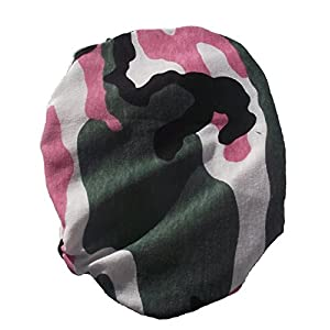 Simple Stoma Cover Ostomy Bag Cover Camouflage Pink – für Salts (TM) Confidence® Natural Advance Standard