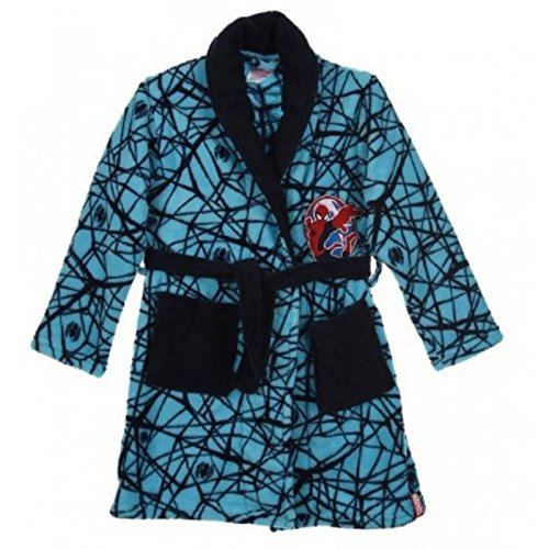 Spiderman - Robe de chambre Spiderman bleu - 4 ans,6 ans,8 ans,3 ans Bleu