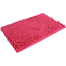 OYSOHE Badezimmer Teppich, Weich, Hochflor, Rutschfester Absorptionsmittel,  Badematte (F)