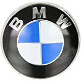 Emblem, vorne, blau, 82 mm