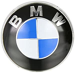 Bmw Genuine Bonnet Hood Front Roundel Emblem Badge 82mm