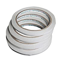 JMcall® 10 Roll Double Sided Tape Mounting Tape Strong Adhesive Width 8mm(White)