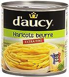 D'Aucy Haricots Beurre Extra Fins La Boîte 400 g