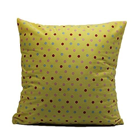 Vovotrade Wave Cotton PillowCases Leinen Sofa Kissenbezug Home Decor (18