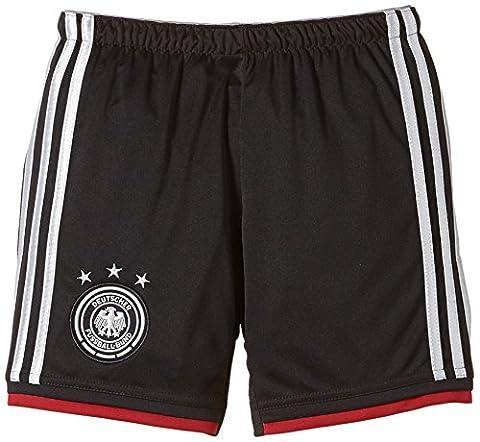 adidas Kinder Trainingsshirt DFB Short Away WM, Schwarz / Silber, 164, G74529