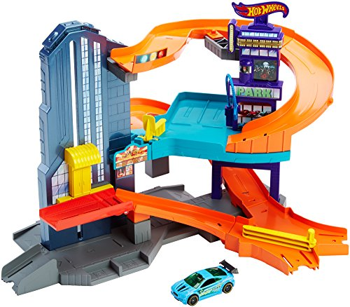 Mattel Hot Wheels CDL36 - Speedtropolis Trackset