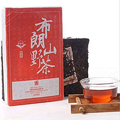 Thé pu-erh de Chine mûr puer antiquaire thé yunnan thé noir de 200g (0.44LB) thé puerh thé rouge thé chinois thé pu'er