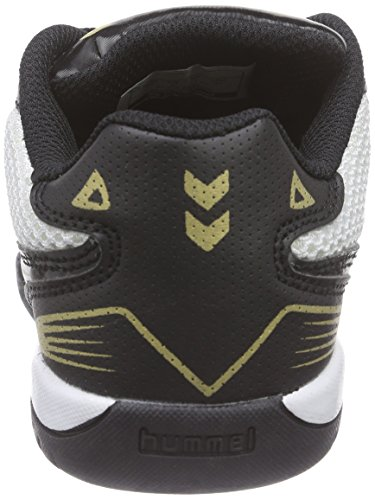 Hummel Root Jr Lace Trophy, Chaussures Multisport Indoor mixte enfant Blanc - Blanc pâle