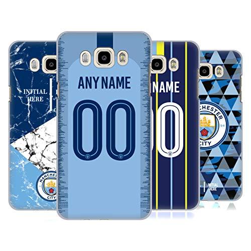 Head Case Designs Manchester City Man City FC Coutume Personnalisé 2018/19 Étui Coque D'Arrière Rigide pour Samsung Téléphones 3
