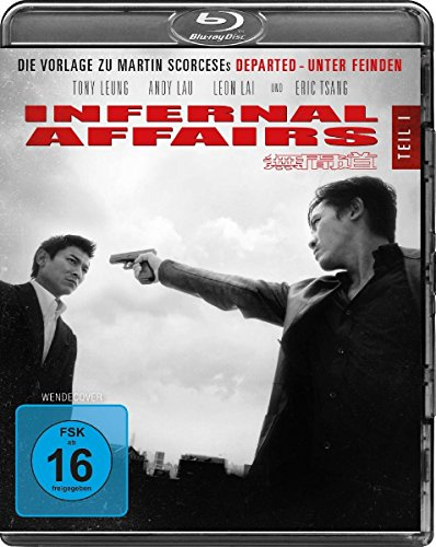 Infernal Affairs [Blu-ray]