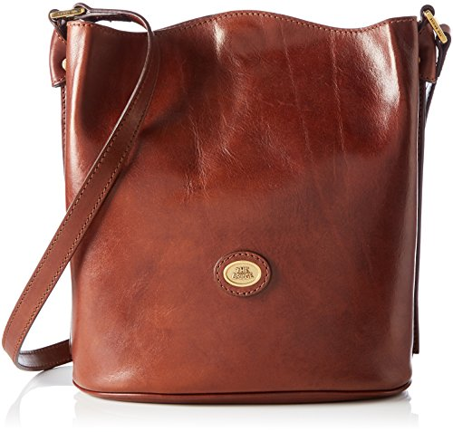 The Bridge Borsa Messenger 04704101-14 Marrone