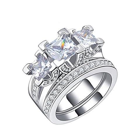Women 's Zircon Diamond Gilded Ring