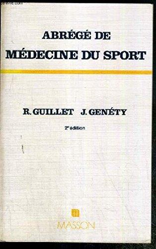 Abrégé de médecine du sport