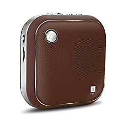 iBall Iball Musi Square BT6 Bluetooth Speaker - Brown