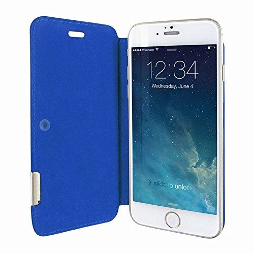 Piel Frama 677SWB PIELFRAMA 677SWB Swaro Case für Apple iPhone 6 in blau Azul (Crocodile blue)