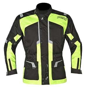 Akito Terra Motorcycle Motorbike Waterproof Urban Jacket Black/Yellow S