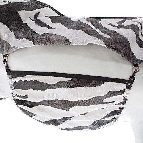 Bucas Buzz-Off Bauchlatz - Zebra