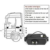 Jasnyfall 12 V 8000 Watt LCD Schalter Fahrzeug Luft Diesel Heizung Für Autos LKW Yachten Boote Motor-Homes Bus Air Standheizung