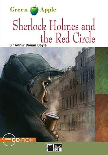 Sherlock Holmes and The Red Circle: Englische Lektüre für das 2. und 3. Lernjahr. Buch + CD-ROM (Green Apple)