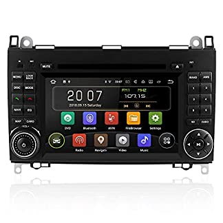 Aumume-Android-90-Autoradio-fr-Mercedes-Benz-Sprinter-B200-B-Class-W245-B170-W169-mit-Navi-Untersttzt-Autoplay-Mirrorlink-Bluetooth-DAB-WiFi-USB-CD-DVD