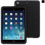 Snugg� iPad Mini / 2 / 3 Case - Silicone Case with Lifetime Guarantee (Black) for Apple iPad iPad Mini / 2 / 3