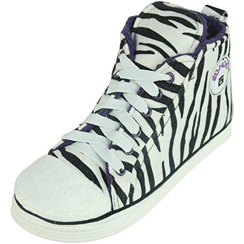 Gohom, Pantofole uomo Zebra White
