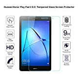 Fiimi Huawei MediaPad T3 8 8-Inch Screen Protector - Fiimi Tempered Glass Screen Protector For Huawei MediaPad T3 8 8-Inch,9H Hardness,0.3mm Thickness with Real Glass