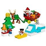 #7: LEGO DUPLO Town Santa's Winter Holiday Set