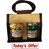 Farm Naturelle-Aesthetically Designed Jute Gift Bag With Pure Raw Natural Unheated Unprocessed Forest Wild Berry... - B075XLN5NF