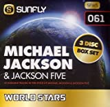 Sunfly Karaoke World Stars Volume 61 - Hits Of Michael Jackson & The Jackson 5 (3 CD+G Box Set) -