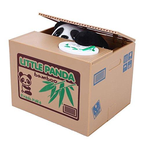 Soledi Cute Animal Volent la plata Automatic caja Hucha Ahorro Moneda